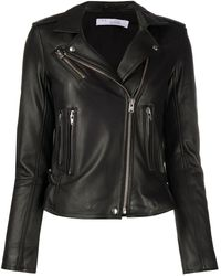 IRO Zipped Biker Jacket - Black