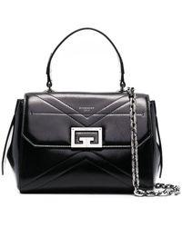 Givenchy Borsa Id Piccola In Pelle - Nero