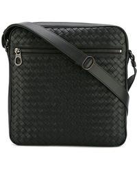 Bottega Veneta - - Woven Effect Messenger Bag - Men - Leather - One Size - Lyst