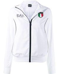 EA7 Tuta In Cotone - Bianco
