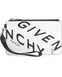 Givenchy Portamonete Refracted Bianco