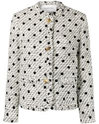 Valentino - Giacca a pois - Lyst
