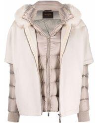 Moorer Coats Cream - Natural