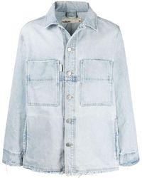Haikure Oversized Denim Jacket - Blue