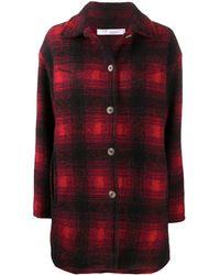 IRO Plaid Print Shirt - Black