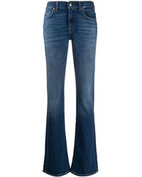 7 For All Mankind Denim Bootcut Jeans - Blue