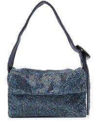 Benedetta Bruzziches La Vitty La Mignon Tote Bag - Blue