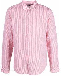 Michael Kors - Striped Button-up Shirt - Lyst