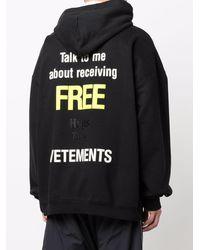 Vetements Sweaters Black