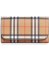 Burberry - Kenton Leather Wallet - Lyst