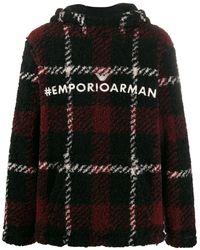 Emporio Armani Hooded Sweathirt - Black