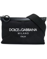 Dolce & Gabbana - Embossed Belt Bag With Logo - Lyst