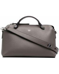 Fendi Medium By The Way Shoulder Bag - Gray
