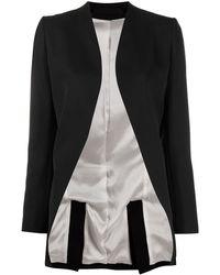 Haider Ackermann Open Tuxedo Jacket - Black