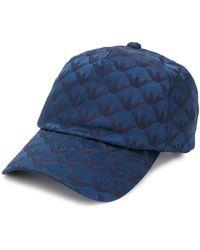 Emporio Armani Cappello da baseball con logo - Blu