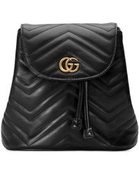Gucci - Small Marmont Backpack - Lyst