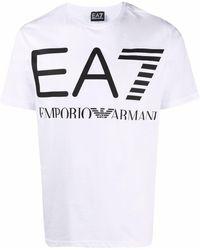 EA7 T-shirts And Polos White