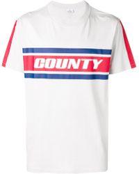 Marcelo Burlon - T-shirt Con Stampa County - Lyst