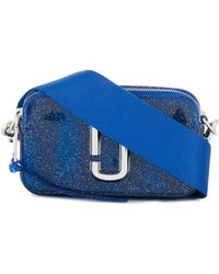 Marc Jacobs Jelly Glitter Snapshot Camera Bag - Blue