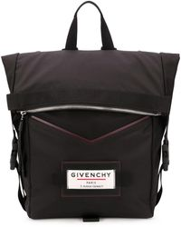 Givenchy ZAINO DOWNTOWN IN NYLON CON LOGO - Nero