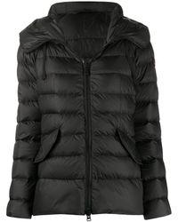 Peuterey Hooded Puffer Jacket - Black