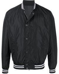 Balmain Logo-print Bomber Jacket - Black