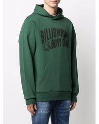 BBCICECREAM Logo Cotton Hoodie - Green