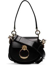 Chloé Black Tess Small Shoulder Bag - Nero