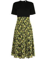 Paul Smith Floral-print Midi Dress - Yellow