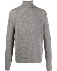 IRO Fine-knit Roll Neck Jumper - Grey