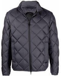 Emporio Armani E.armani Travel Pre Coats Grey