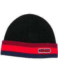 KENZO Cappello In Lana - Nero