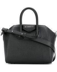 Givenchy - Antigona Mini Leather Shoulder Bag - Lyst
