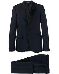 Givenchy Completo due pezzi monopetto - Blu