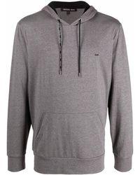 Michael Kors - Logo-detail Pullover Hoodie - Lyst