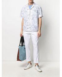 EA7 Straight-leg Chino Pants - White