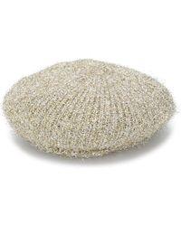 M Missoni Knit Beret - Metallic