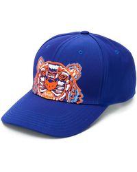 KENZO Cappello Con Logo - Blu