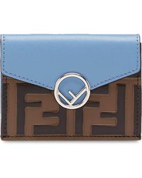 Fendi - Leather Small Wallet - Lyst