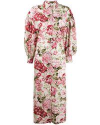 P.A.R.O.S.H. - Floral-print Dress - Lyst