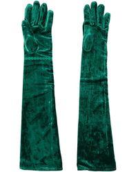 MM6 by Maison Martin Margiela Slip-on Gloves - Green