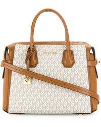 MICHAEL Michael Kors Mercer Leather Handbag - Multicolor