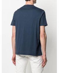 Kiton T-shirt a girocollo - Blu