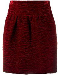 Saint Laurent Skirt - Red