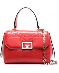 Givenchy Borsa Id Piccola In Pelle - Rosso