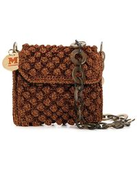 M Missoni Boucle Crossbody Bag With Chain - Multicolor