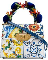 Dolce & Gabbana - Welcome Maiolica Printed Bag - Lyst