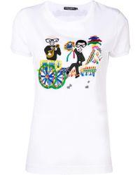 Dolce & Gabbana - Jersey T-shirt - Lyst
