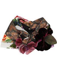 Dolce & Gabbana Mix-print Turban - Black