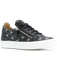 Giuseppe Zanotti - The Signature Low-top Sneakers - Lyst